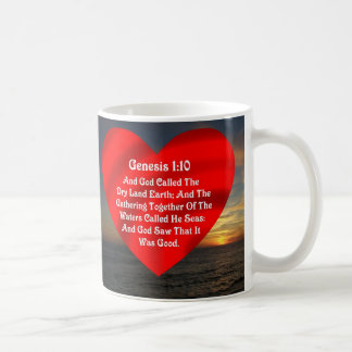 Genesis 1 10  Seas --MUG Coffee Mug