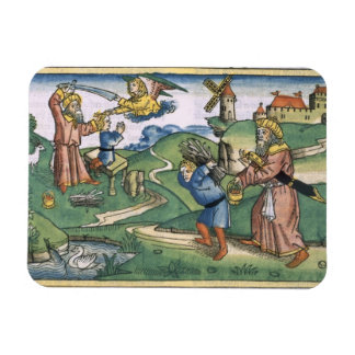 Genesis 21 1-14 Abraham's offering up of Isaac, fr Magnet