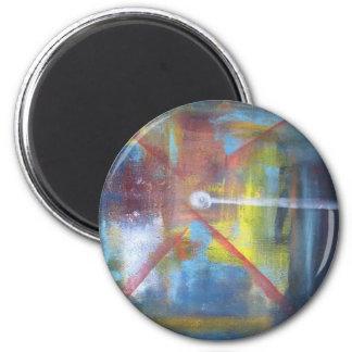 Genesis 6 Cm Round Magnet