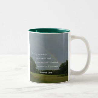 Genesis 9:13 Rainbow Mug