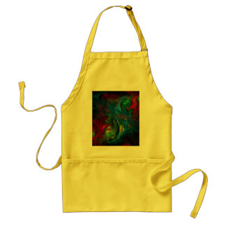 Genesis Blue Abstract Art Apron