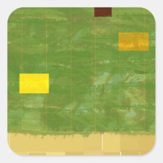 Genesis Day 3: Vegetation 2014 Square Sticker