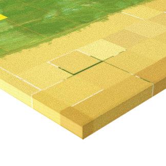 Genesis Day 3: Vegetation 2014 Stretched Canvas Print