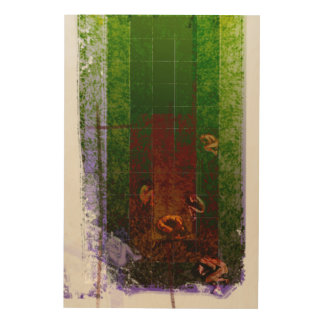 Genesis Day 6: Man 2014 Wood Prints