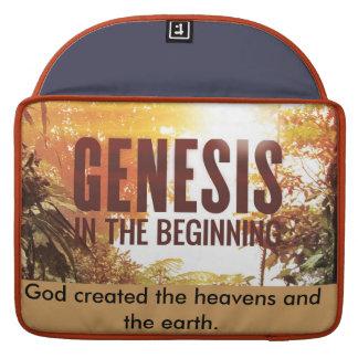 Genesis:IN THE BEGINNING Sleeve For MacBooks