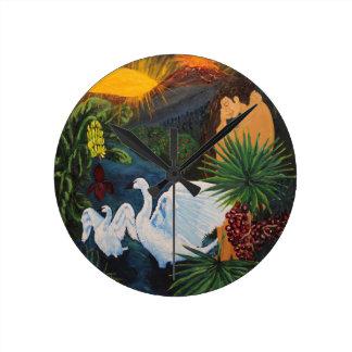 Genesis Round Clock