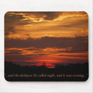 Genesis, the Creation, mouspad Mouse Pad