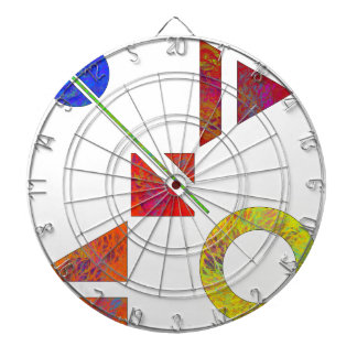 Genessium - birth of maths dartboard