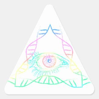 Genetic Sequence -  DNA Third EYE Sticker
