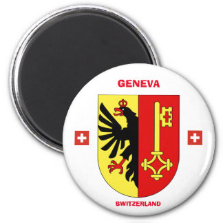 Geneva Coat of Arms Magnet