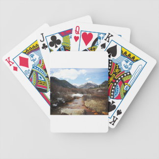 Geneva Creek In The Fall Bicycle Playing Cards