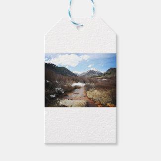 Geneva Creek In The Fall Gift Tags