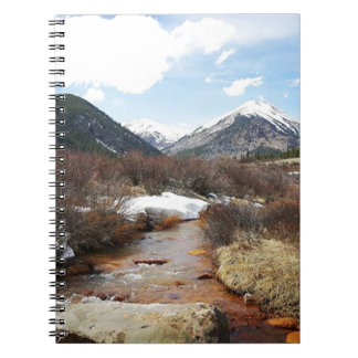 Geneva Creek In The Fall Notebook