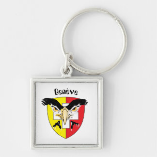 Geneva, Genève, Ginevra, Genevra key supporter Key Ring