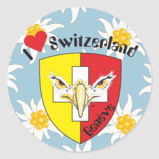 Geneva/Genève Switzerland Suisse Svizzera sticker