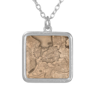 Geneva Switzerland 1773 Silver Plated Necklace