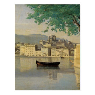 Geneva View of Part of the City by Camille Corot Postcard