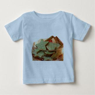 Genger Bread Star Cookies Baby T-Shirt