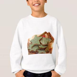 Genger Bread Star Cookies Sweatshirt