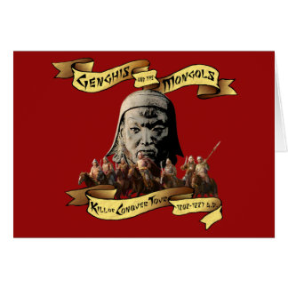 Genghis and the Mongols: Kill or Conquer Tour Card