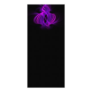Genie Digital Fractal Artwork Rack Card Design