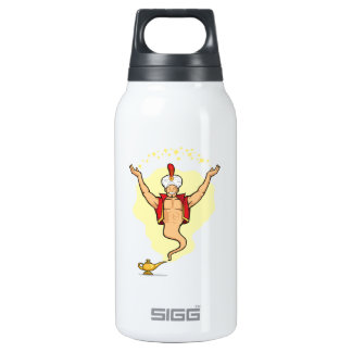 Genie Granting The Wish Insulated Water Bottle