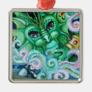 """Genie in a bottle"" ornament"