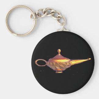 Genie Lamp Key Ring