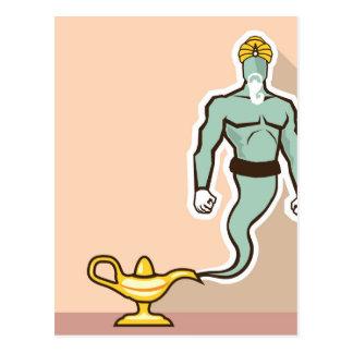 Genie Postcard