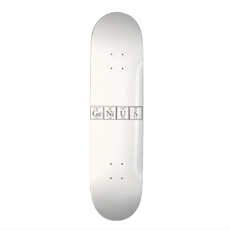 Genius 21.3 Cm Mini Skateboard Deck