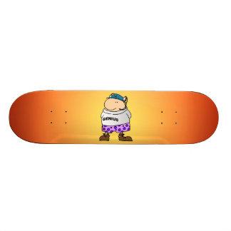 Genius 21.6 Cm Skateboard Deck