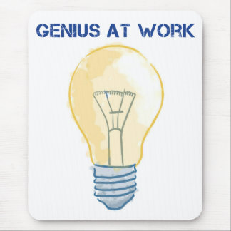 Genius At Work Mouse Pad