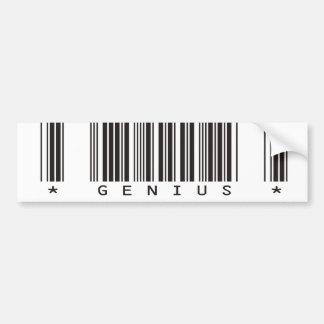 Genius Bar Code Bumper Stickers