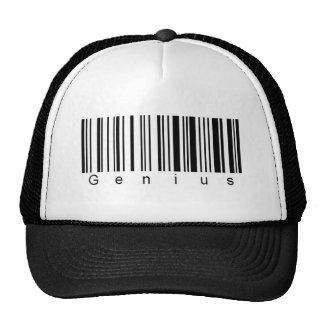 Genius Barcode Cap Mesh Hats