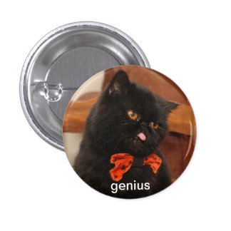 Genius button pin