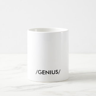 """GENIUS"" COFFEE MUG"