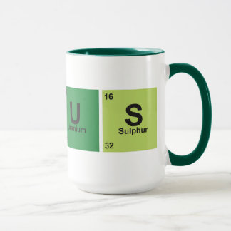 Genius Cup. Periodic table of elements.