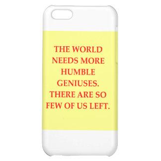 genius joke cover for iPhone 5C
