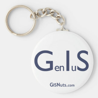 GenIuS Keyhain Key Ring