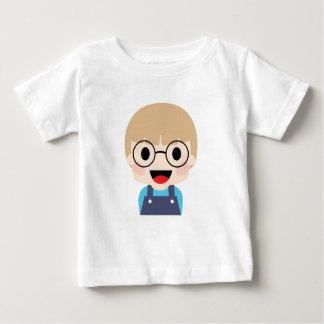 Genius Kid with big eyes Baby T-Shirt