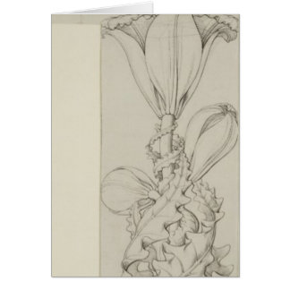 Genius of the Lily, 1809 Greeting Card