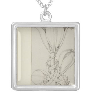Genius of the Lily, 1809 Silver Plated Necklace