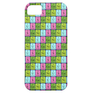 Genius periodic table iPhone 5 case