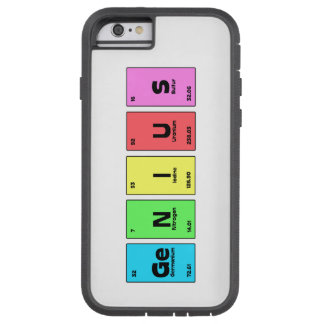 Genius Periodic Table Phone case