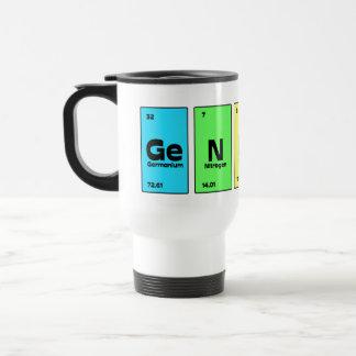 Genius Periodic Table Travel Mug