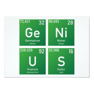Genius PSE Card