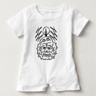 genius Skull Idea Baby Bodysuit
