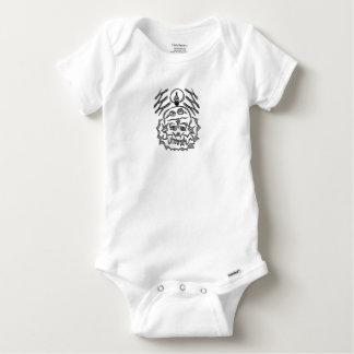 genius Skull Idea Baby Onesie