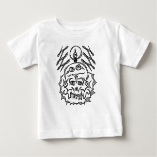 genius Skull Idea Baby T-Shirt