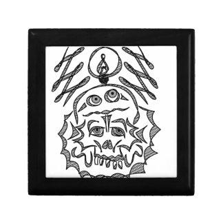 genius Skull Idea Gift Box